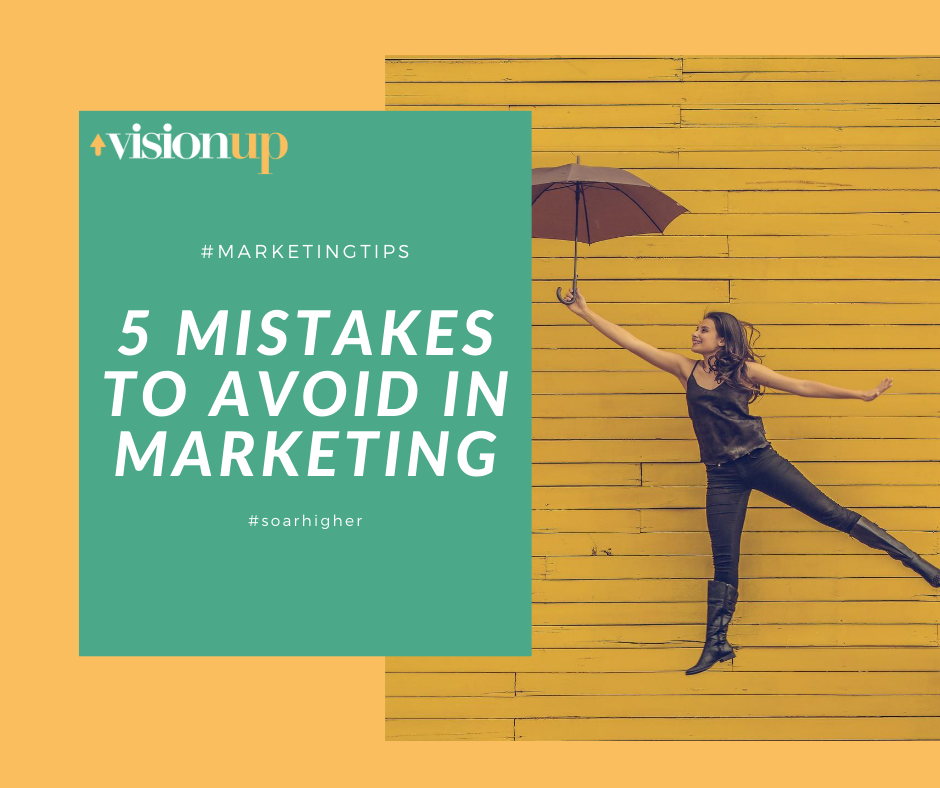 5 mistakes to a avoid in marketing